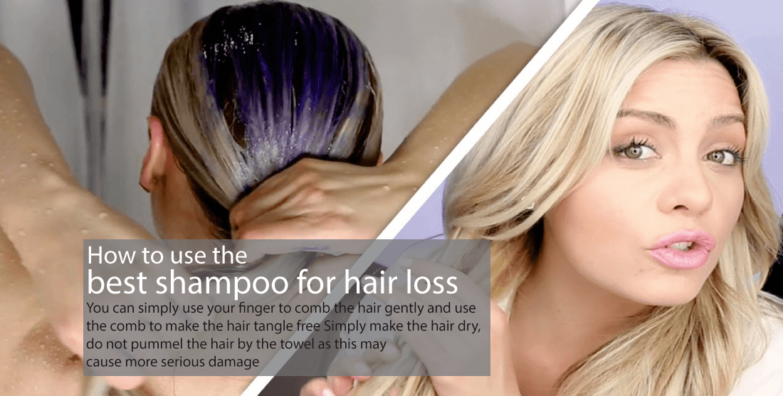 How to use the shampoo for hair growth
