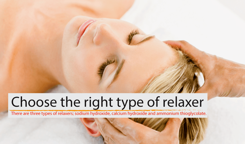 how to relax hair at home