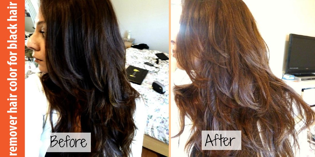 How To Remove Black Hair Dye At Home