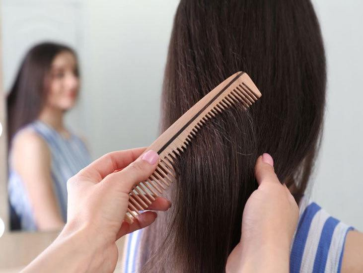 Conditioner and a Narrow Toothed Comb