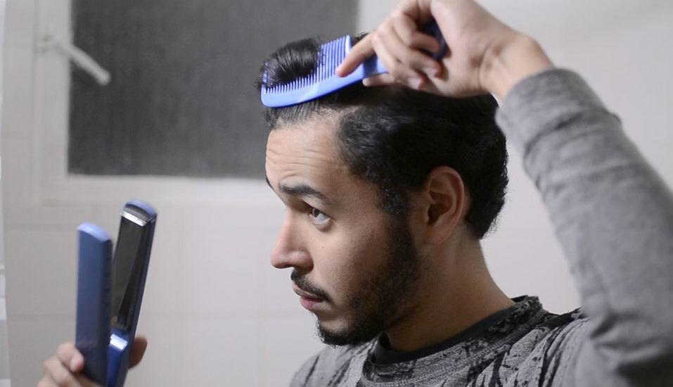 How To Straighten Hair For Men Using Hair Tools